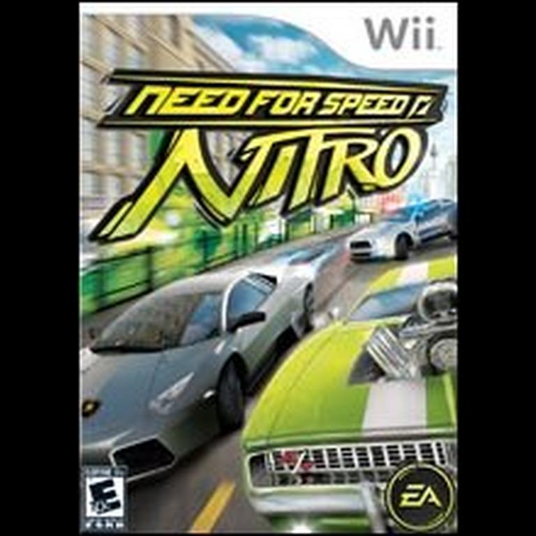 Need For Speed Nitro Nintendo Wii Gamestop