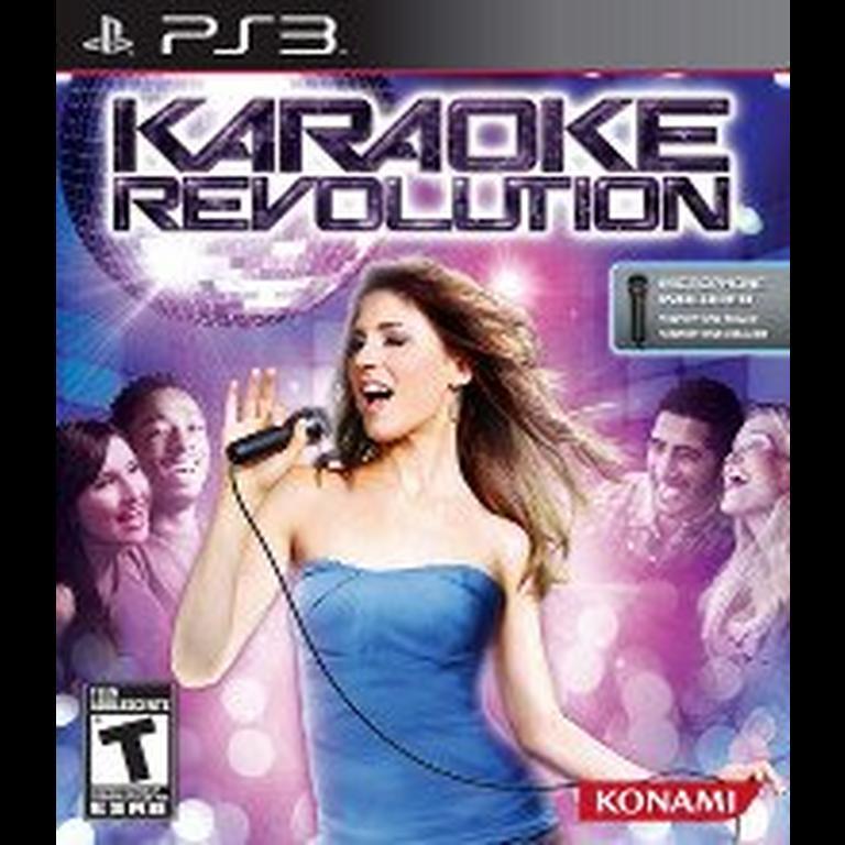 Karaoke Revolution Game Only Playstation 3 Gamestop