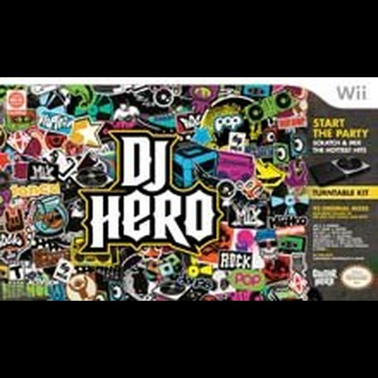 DJ Hero with Turn Table