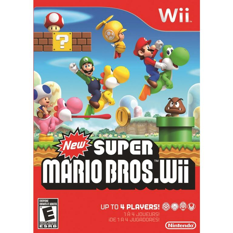 New Super Mario Bros Wii Nintendo Wii Gamestop