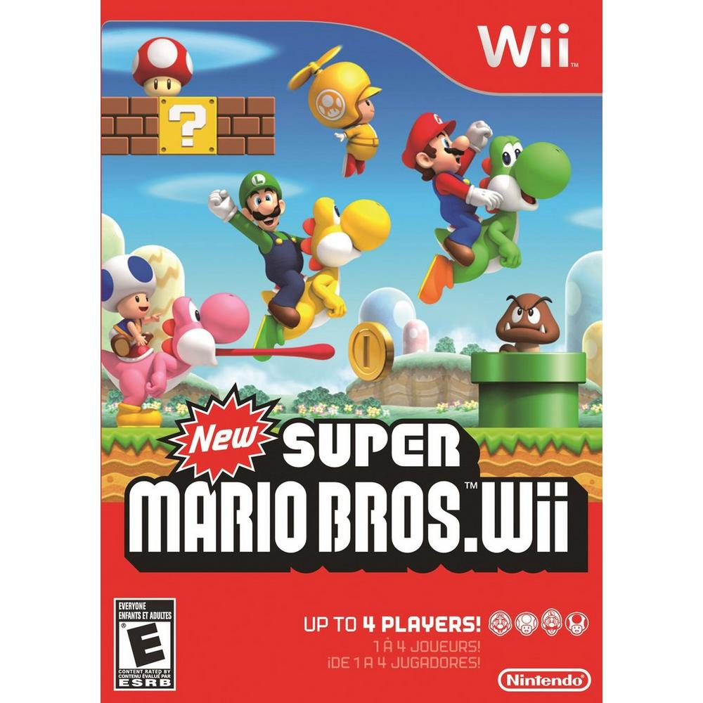 New Super Mario Bros  Wii   Nintendo Wii   GameStop