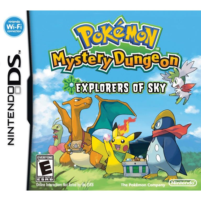 Pokemon Mystery Dungeon Explorers of Sky