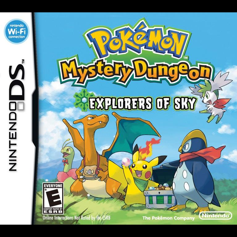 Pokemon Mystery Dungeon Explorers of Sky