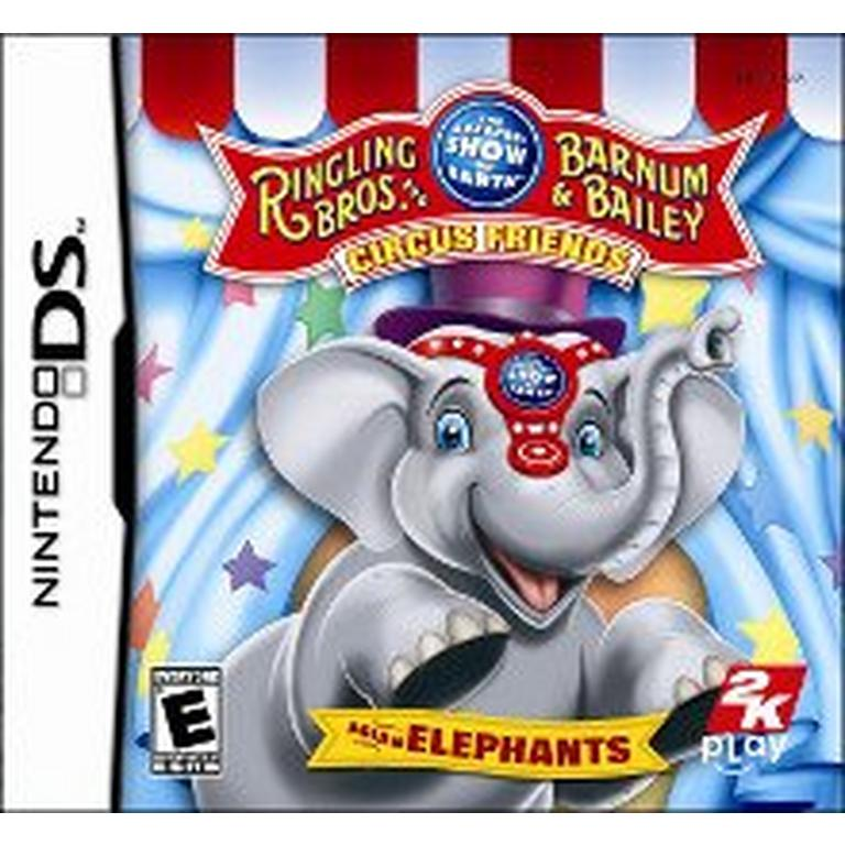 Ringling Bros. and Barnum and Bailey Circus Friends: Asian Elephants
