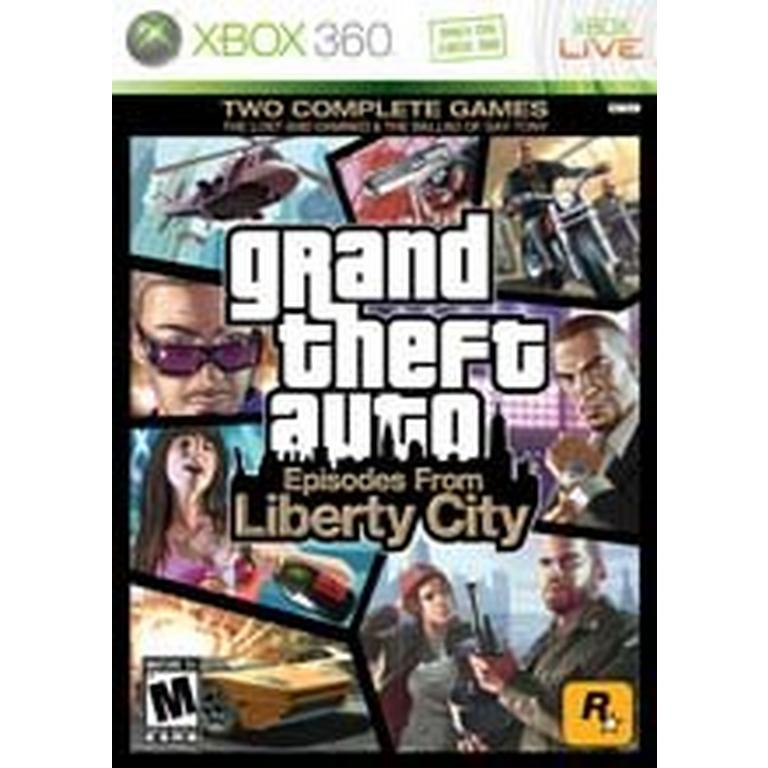 Grand Theft Auto: Episodes From Liberty City | Xbox 360 | GameStop