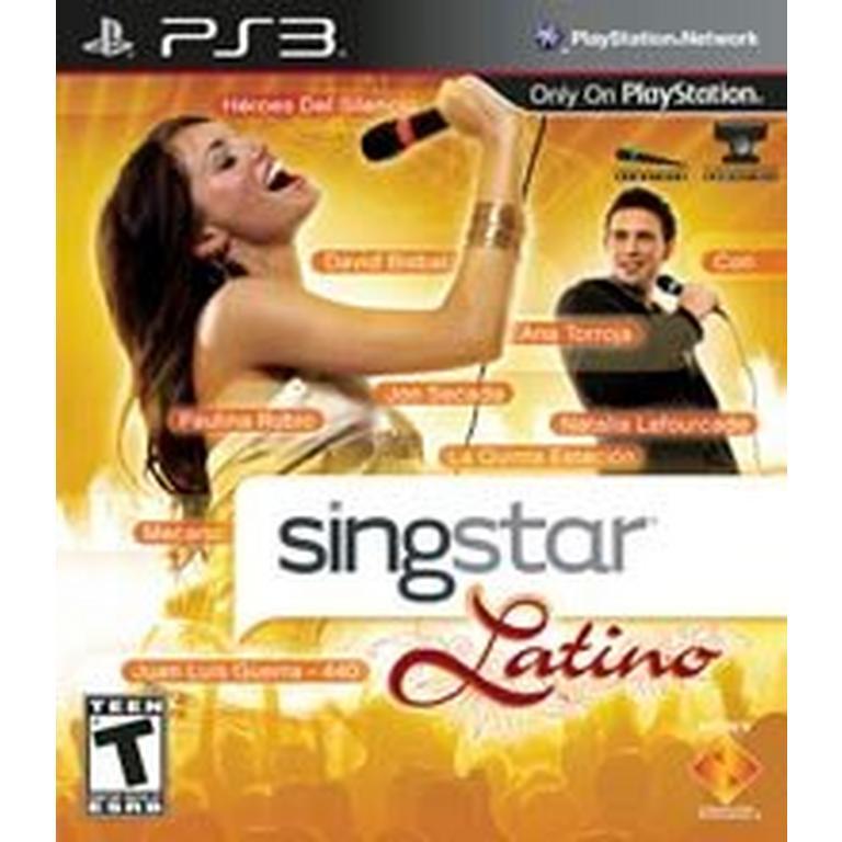 SingStar Latino (Game Only)