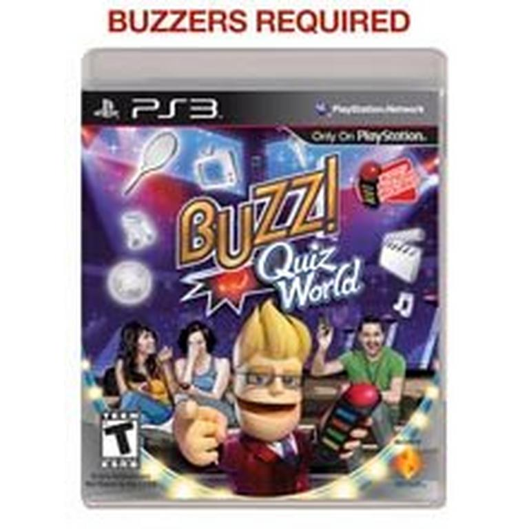 Buzz! Quiz World - Game Only | PlayStation 3 | GameStop