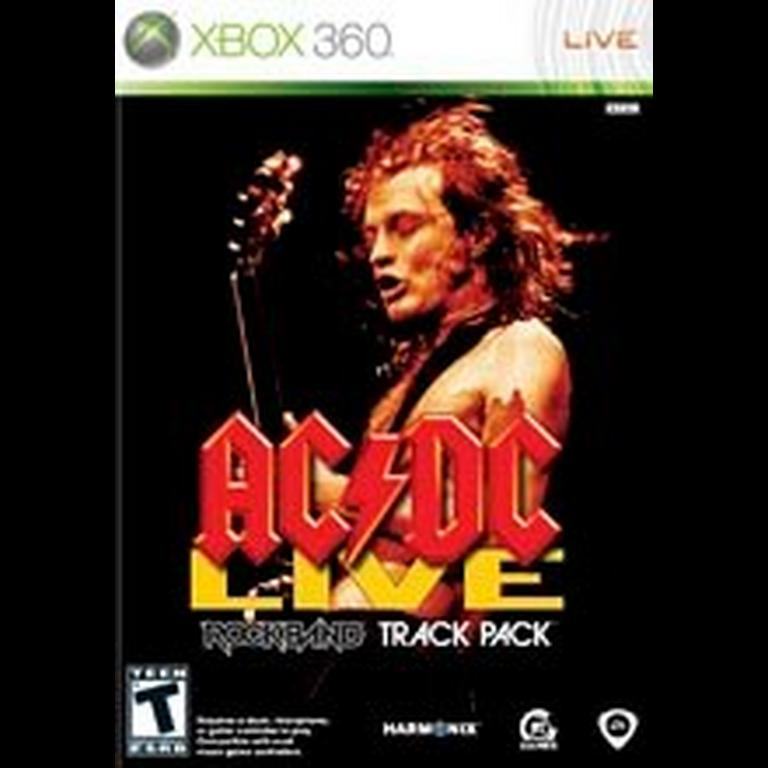 Rock Band: AC/DC Track Pack