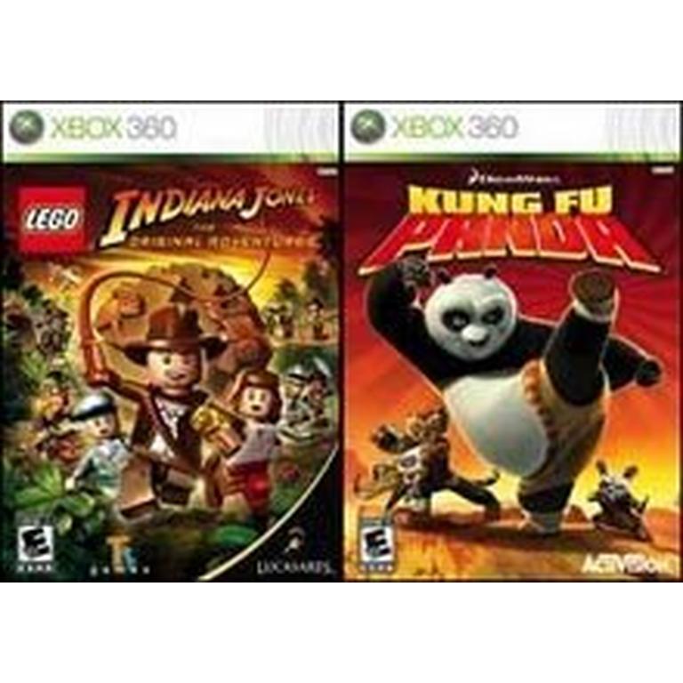LEGO Indiana Jones: The Original Adventures and Kung Fu Panda 2 Pack