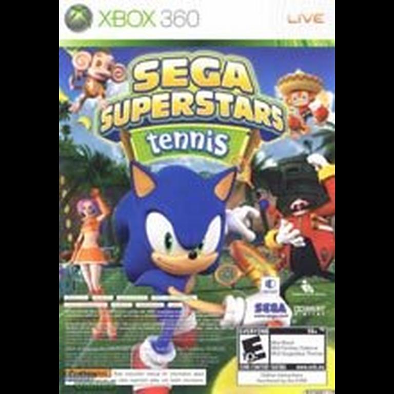 Sega Superstars Tennis / XBOX Live Arcade Compilation (2 discs)