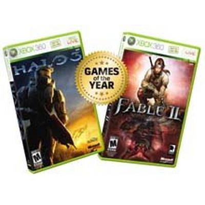 Fable 2 and Halo 3 Combo (2disc)