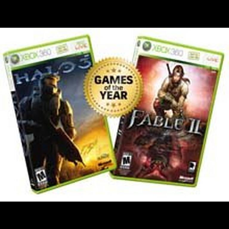 Fable II and Halo 3 Double Pack