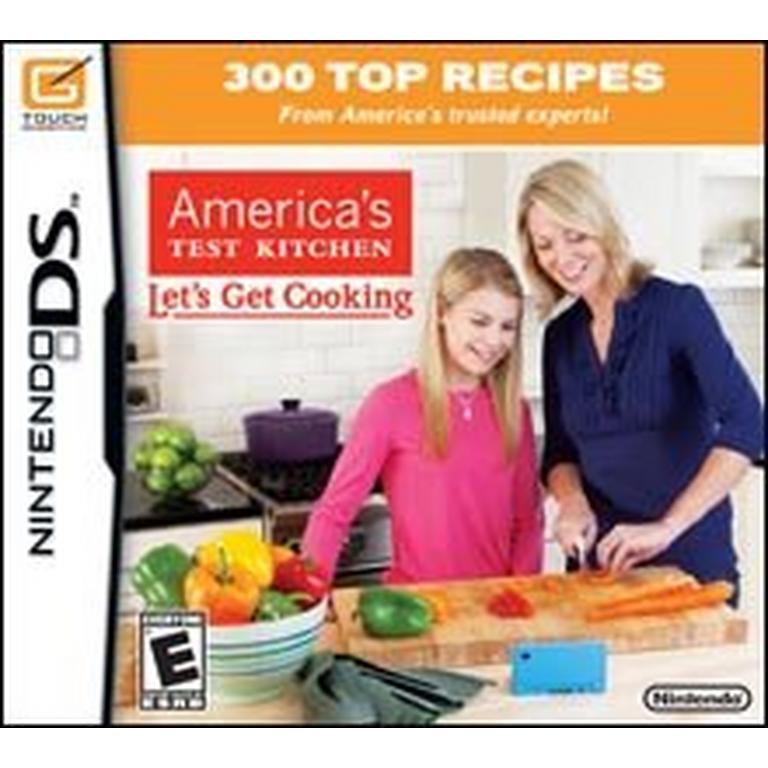 America S Test Kitchen Let S Get Cooking Nintendo Ds Gamestop