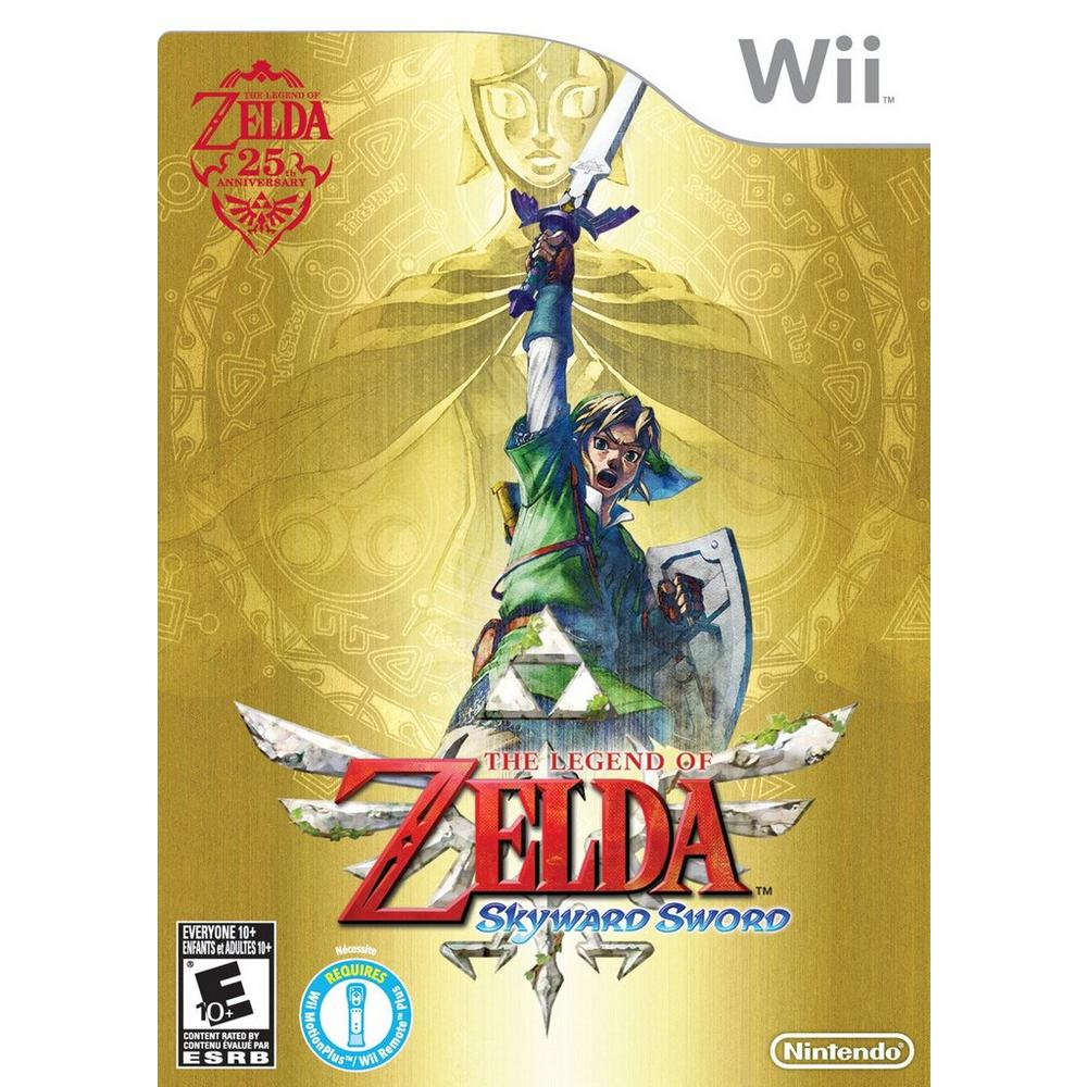 The Legend Of Zelda Skyward Sword Nintendo Wii Gamestop