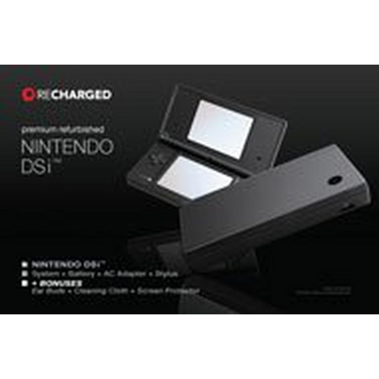 Nintendo DSi Solid Black GameStop Premium Refurbished