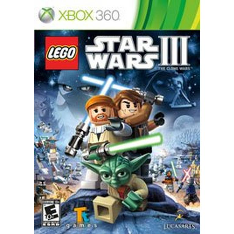 Lego Star Wars Iii The Clone Wars Xbox 360 Gamestop