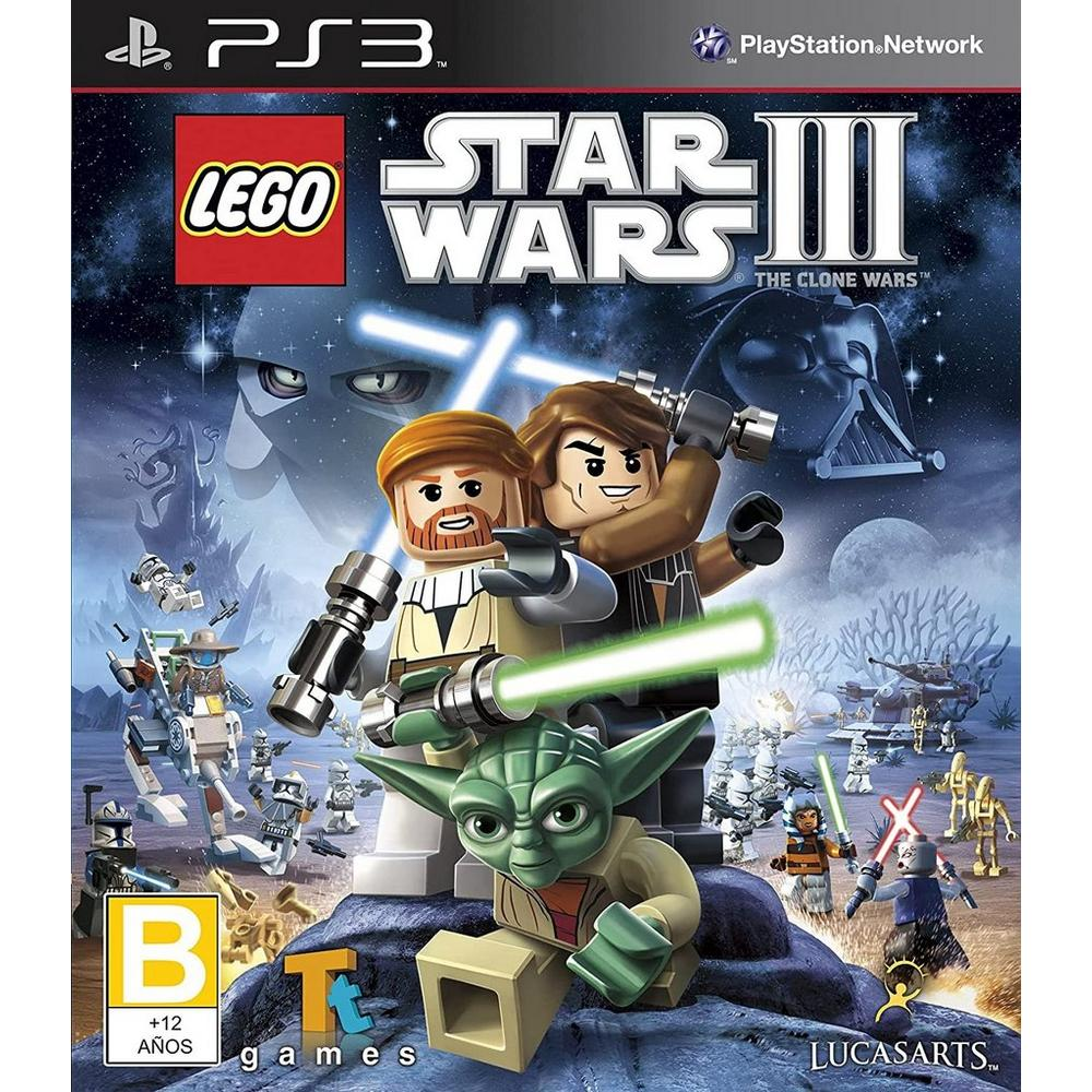 Lego Star Wars Iii The Clone Wars Playstation 3 Gamestop