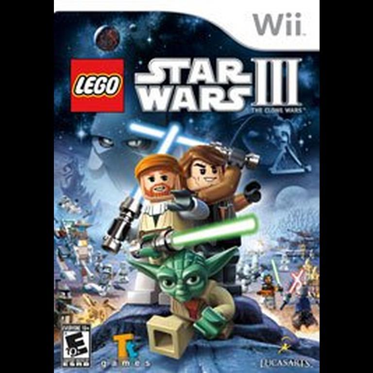 Lego Star Wars Iii The Clone Wars Nintendo Wii Gamestop
