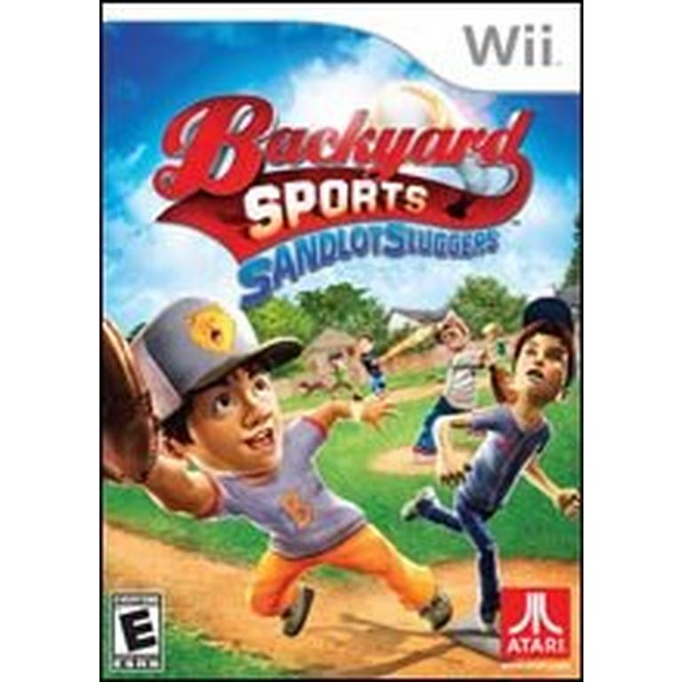Backyard Sports: Sandlot Sluggers wii
