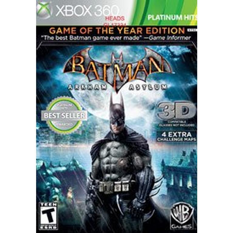 Batman: Arkham Asylum Game of The Year Edition 3D