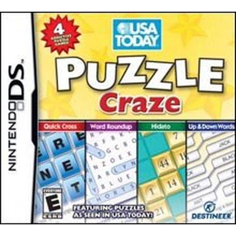 USA Today Puzzle Craze