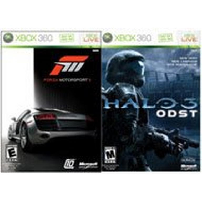 Forza 3 and Halo 3: ODST