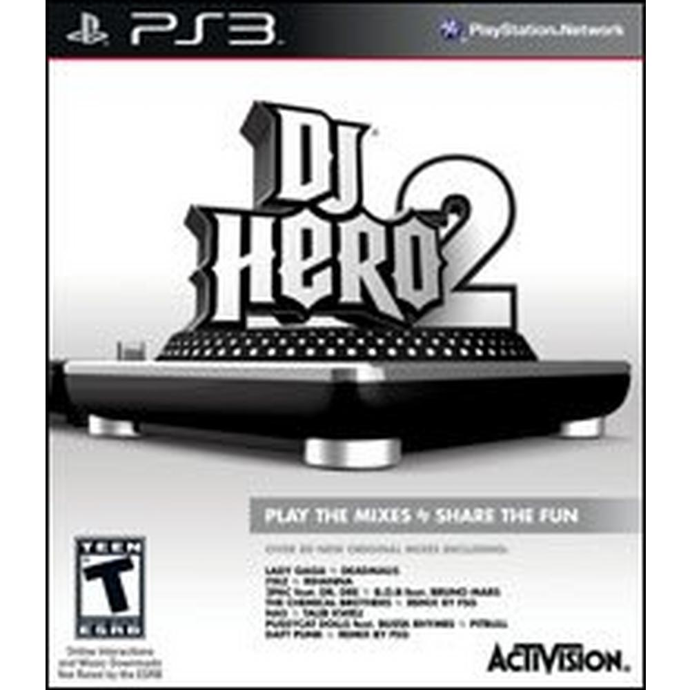 DJ Hero 2 - Game Only | PlayStation 3 | GameStop