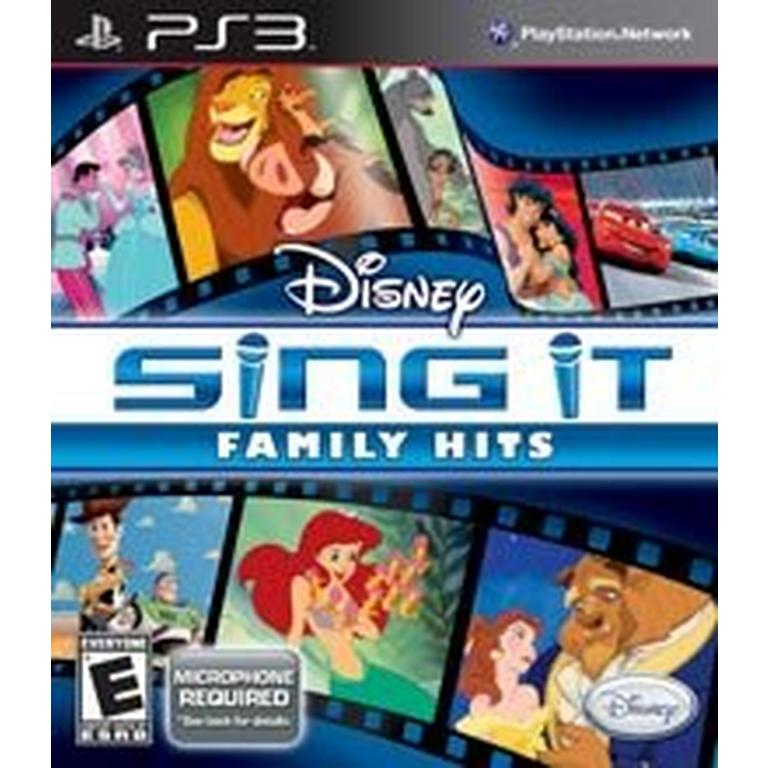 Sing It: Family Hits - Game Only