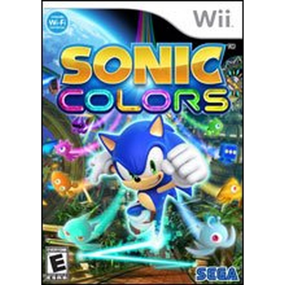 Sonic Colors   Nintendo Wii   GameStop