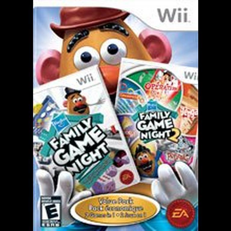 Hasbro Family Game Night 1 and 2 Bundle