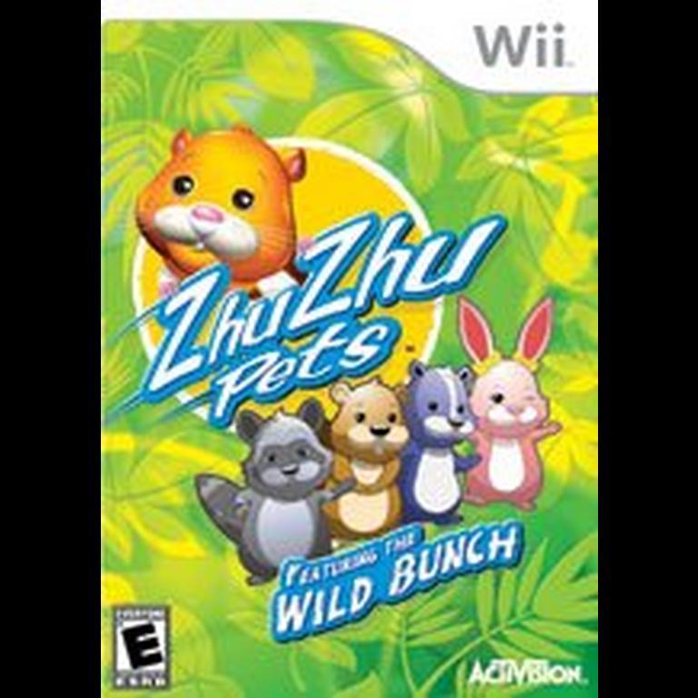 Zhu Zhu Pets Wild Bunch