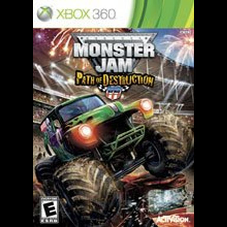 Monster Jam Path Of Destruction Xbox 360 Gamestop