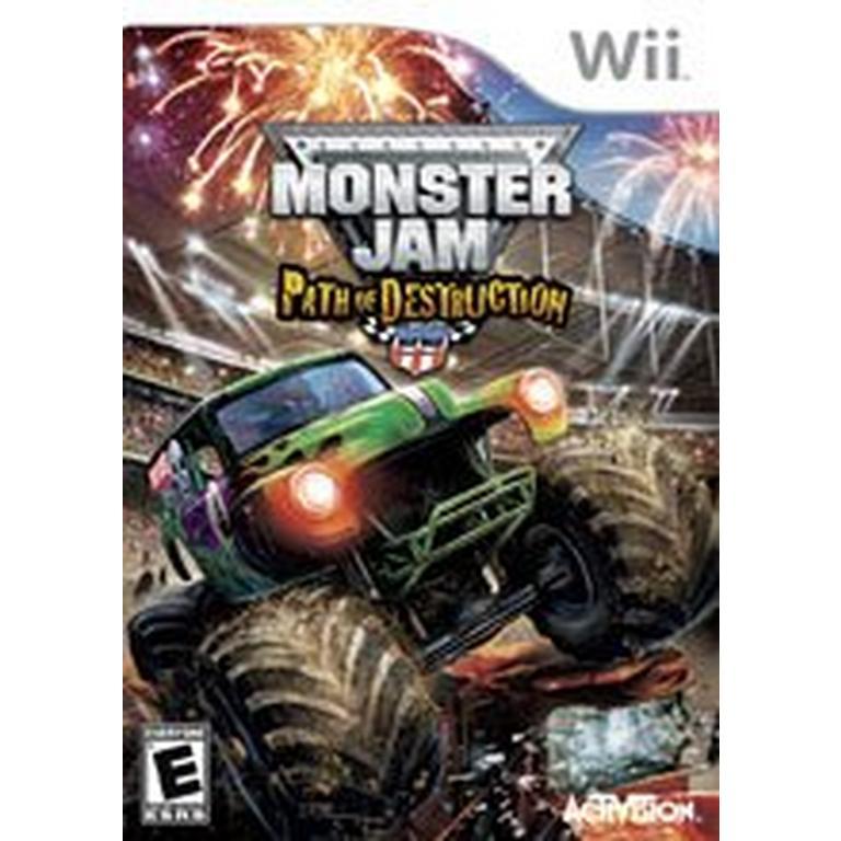 Monster Jam Path of Destruction with Wheel