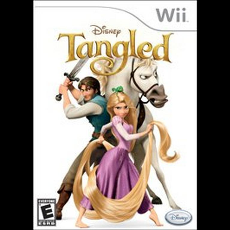 Disney Tangled The Video Game Nintendo Wii Gamestop