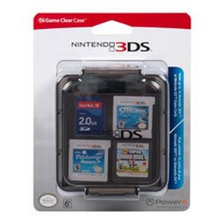 Nintendo 3DS Clear 16 Game Case
