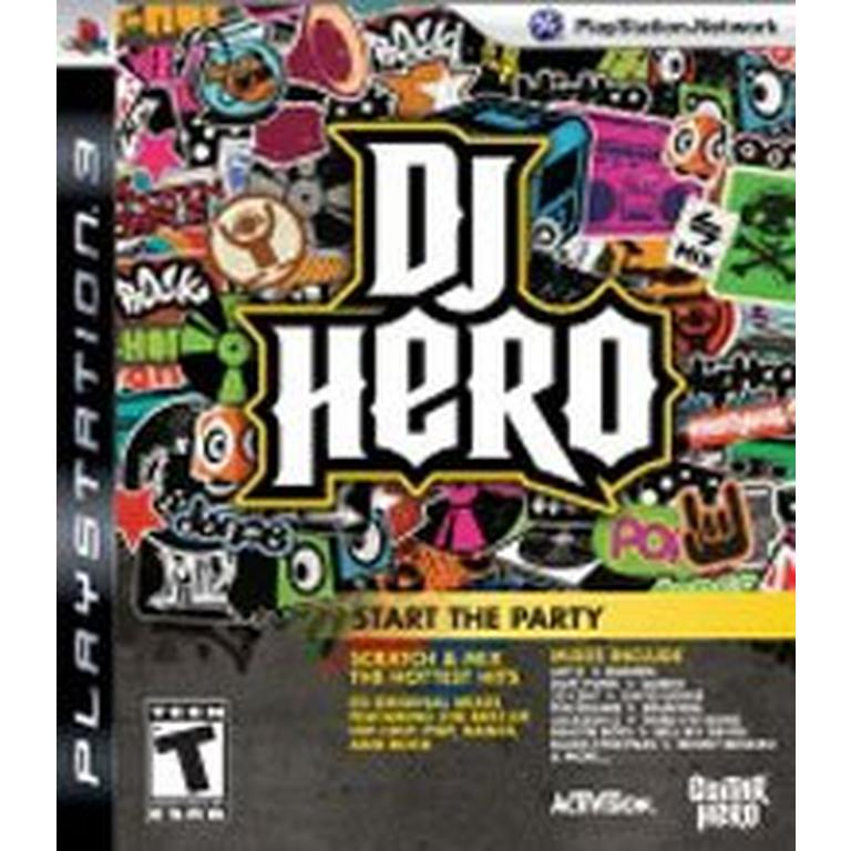 DJ Hero Software - Game Only