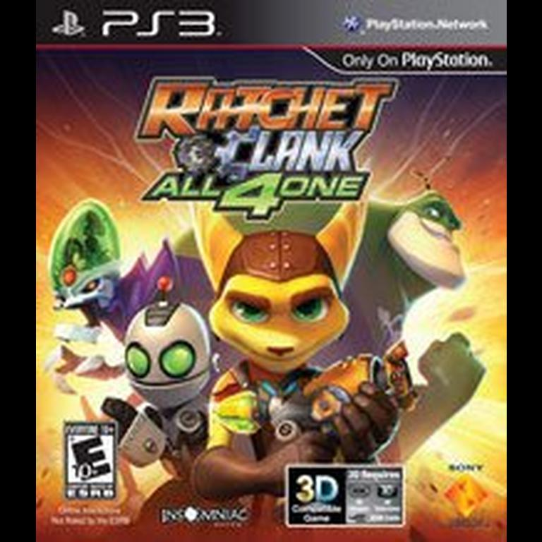 Ratchet And Clank All 4 One Playstation 3 Gamestop