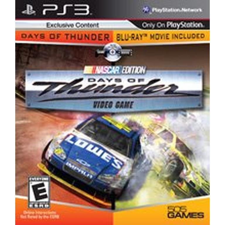 Days of Thunder Video Game and Blu-Ray Movie