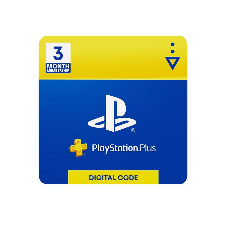 Playstation Plus 3 Month Membership Universal Gamestop