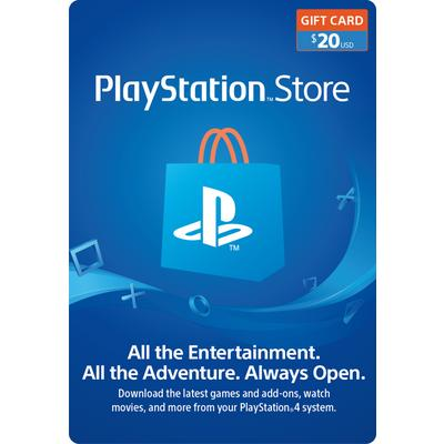 PlayStation Store Gift Card $20