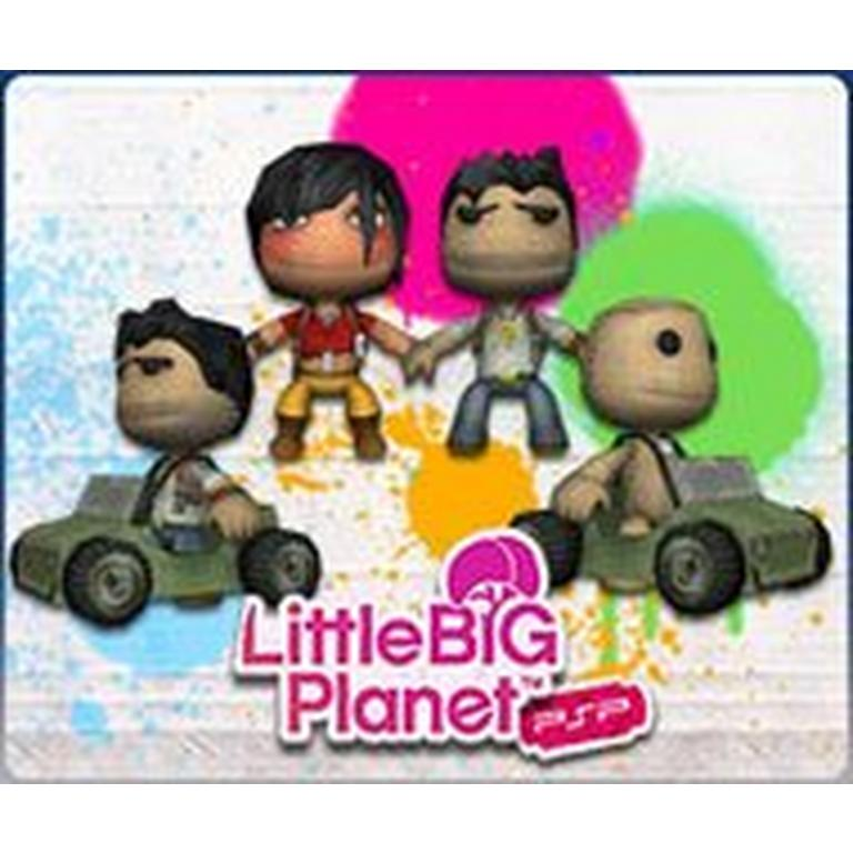 LittleBigPlanet PSP - Costumes of Uncharted