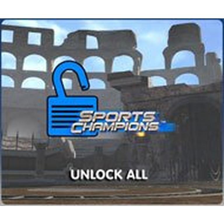 Sports Champions Unlock All