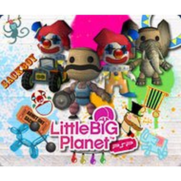 LittleBigPlanet PSP Sack Circus Extravaganza Pack