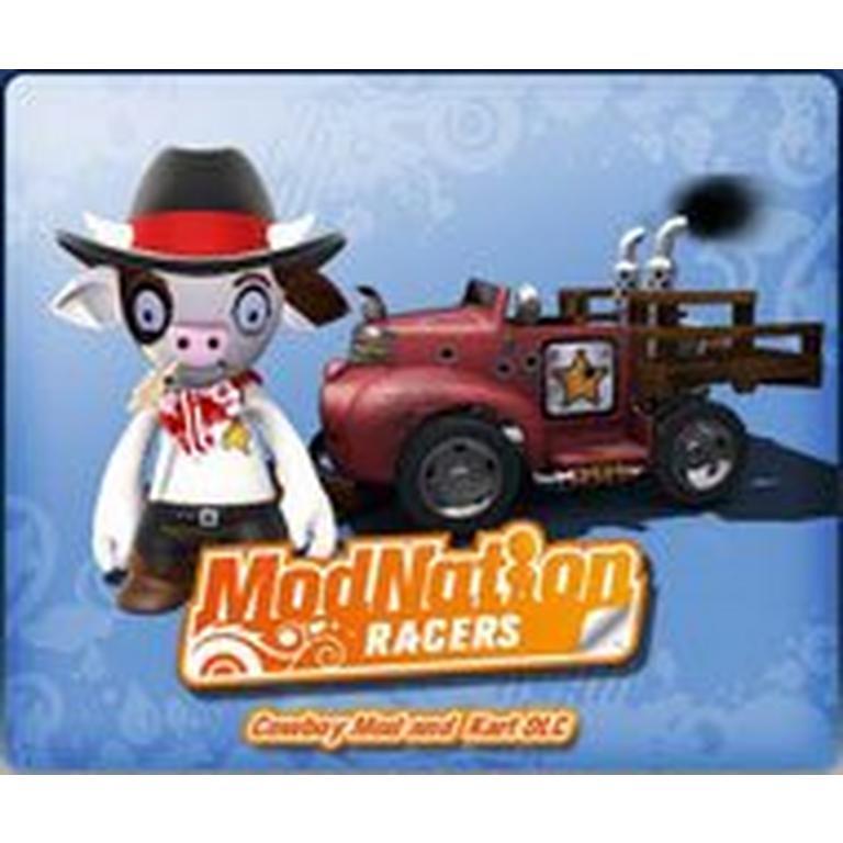 ModNation Racers Cowboy Mod and Kart
