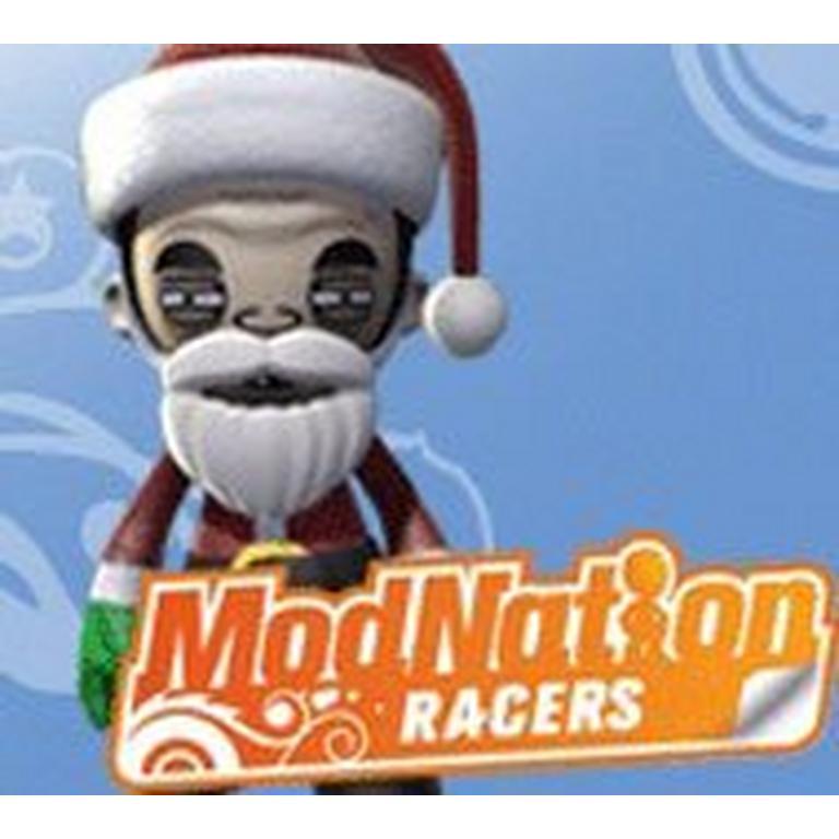 ModNation Racers - Mall Santa Mod