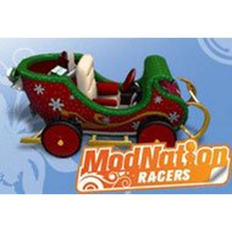ModNation Racers Sleigh Kart