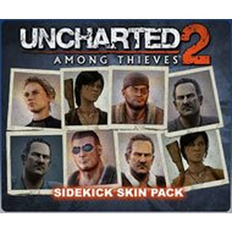 Uncharted 2: Sidekick Skin Pack