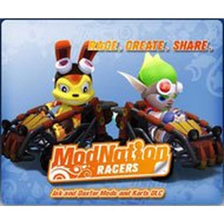 ModNation Racers - Jak and Daxter Mods and Kart
