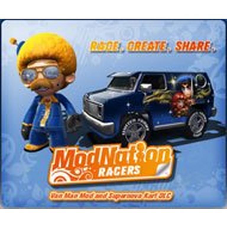 ModNation Racers: Vamp Mod and Vamp's Kart Bundle