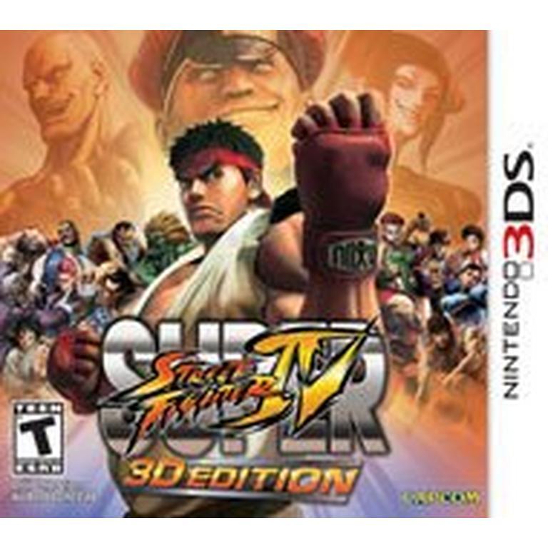 Super Street Fighter IV - 3DS